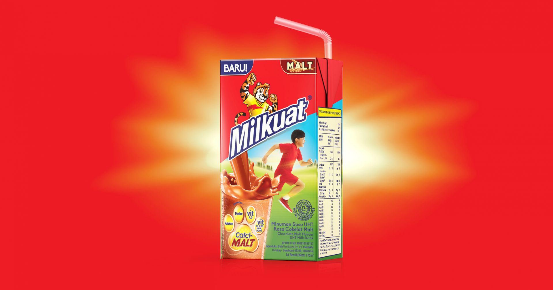 Milkuat Packaging Rejuvenation